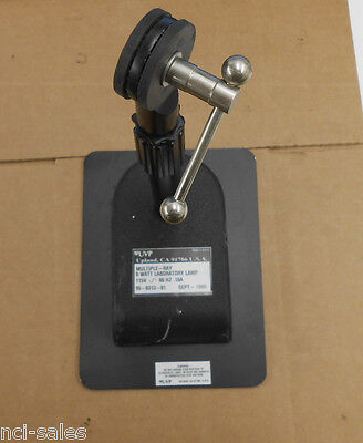 Uvp Multiple-ray 8watt Laboratory Lamp Stand With Adjustable Height