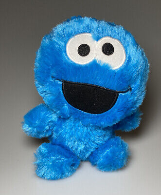 "Baby Cookie Monster Plush Stuffed Animal Soft Toy 7"" Sesame Street"