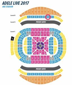 2 x B Reserve Adele tickets (Sydney - Friday 10th March) Cameron Park Lake Macquarie Area Preview