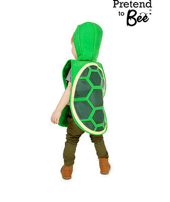 KIDS CHILDRENS TORTOISE TURTLE SEA ANIMAL REPTILE FANCY DRESS COSTUME AGE 3-5-7