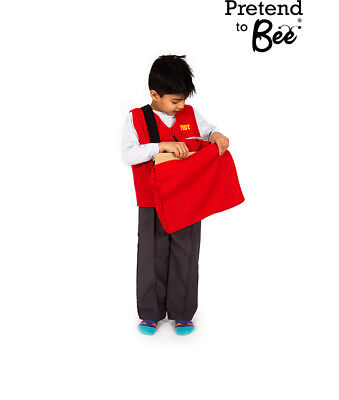KIDS CHILDRENS BOYS CHILDS POSTMAN POSTAL WORKER PAT COSTUME OUTFIT AGE 3-5-7](Postal Costume)