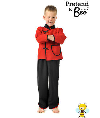 BUY BOYS KIDS CHILDRENS CHINESE STYLE MAN BOY ALADDIN COSTUME OUTFIT AGE 3-5-7