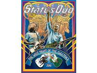 Status Quo, SSE Arena, Belfast, 3x Standing Tickets