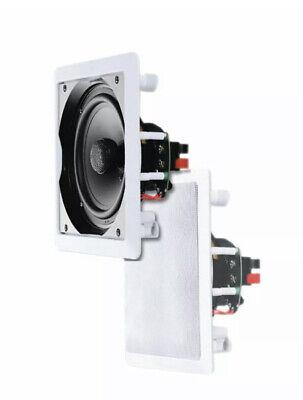 E-Audio 6.5 2 Way Ceiling Speakers (8 Ohms 120 W) B414B **Clearance...