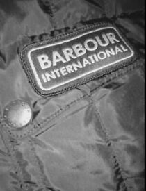 Black Blouson Quilt Barbour Beacon, Limited Edition Jacket unisex, Medium