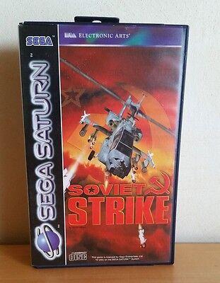 SEGA Saturn Spiel SOVIET STRIKE dt. PAL Ovp   A825 online kaufen