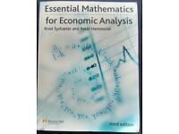 Essential Mathematics for Economic Analysis (isbn: 9780273713241)