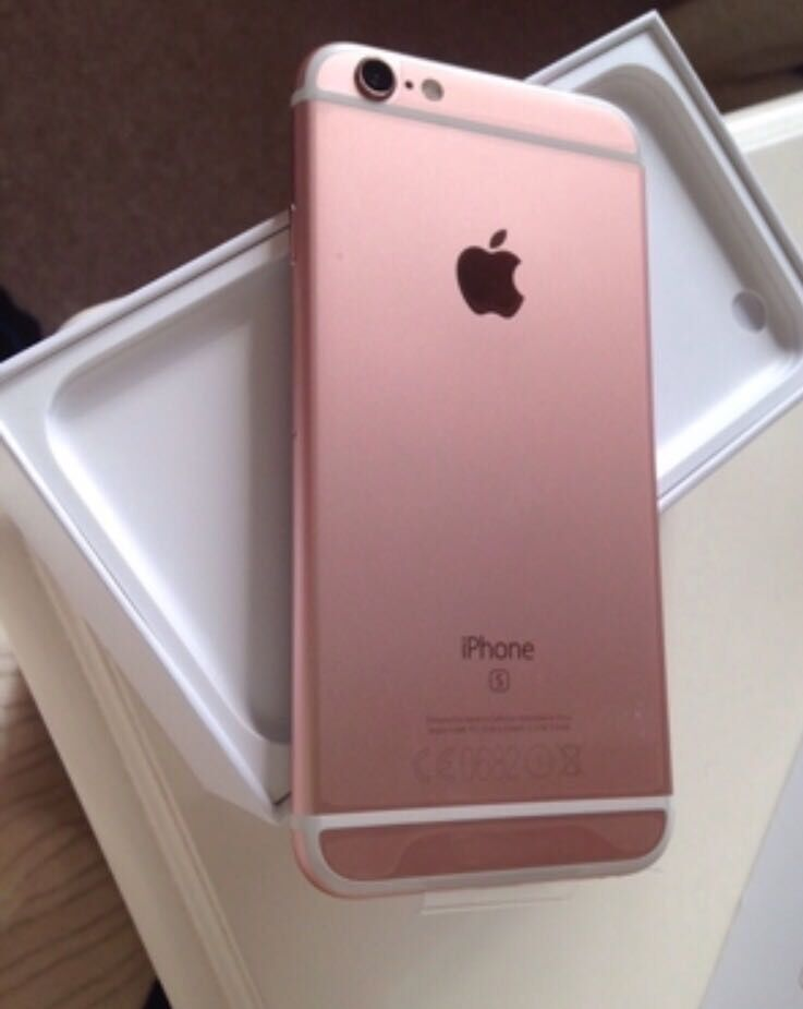 iphone 6s 16gb rose gold colour factory unlocked sim free. Black Bedroom Furniture Sets. Home Design Ideas