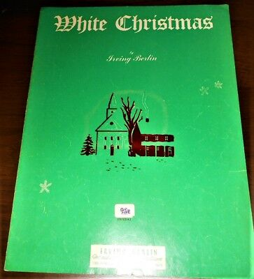 White Christmas Song Sheet Irving Berlin 1947   ()