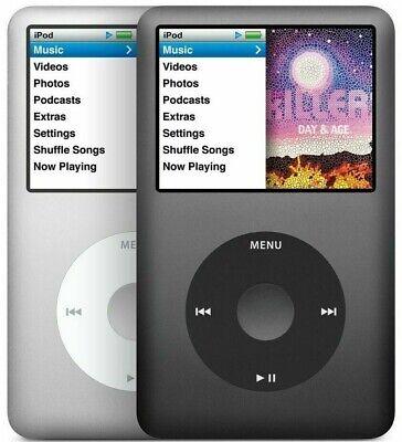 Apple iPod Classic 5th 6th 7th Generation 30GB 60GB 80GB 120GB 160GB All Colors