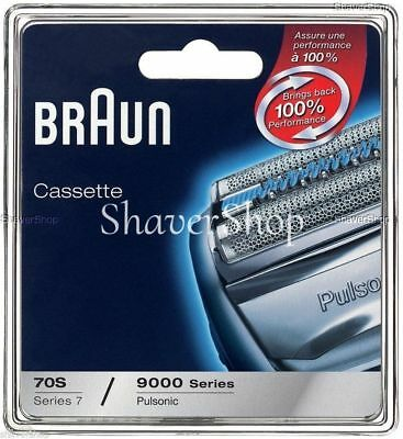 NEW BRAUN 70S PULSONIC 9000 SERIES- 790CC 9595 9585 Shaver Replacement CASSETTE