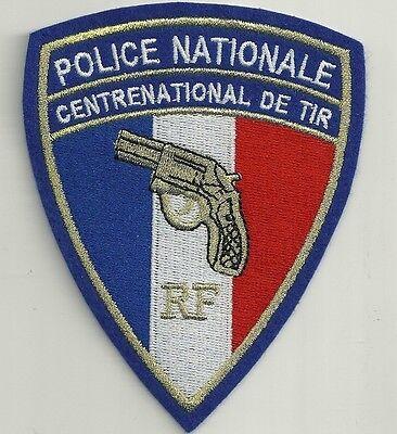 FRANKREICH POLICE NATIONALE  CENTRE  NATIONAL DE TIR ! RF BAC SWAT Polizei Patch