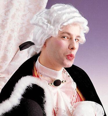 Herren Casanova Pimpernell Georgianisches königsblau Dienstmädchen weiß Kostüm