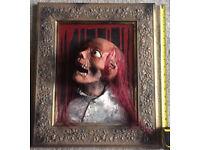 Professionally Hand-Made Halloween Horror Prop - 3D Portrait