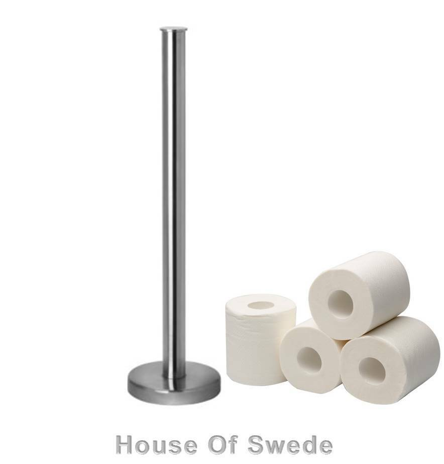 Hoher Apothekerschrank Ikea ~ Details about IKEA Toilet Paper Roll Stand Stainless Steel Holder Rack
