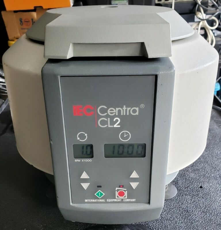 IEC Centra CL-2 centrifuge with 215 Swing Bucket Rotor