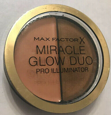 MAX FACTOR MIRACLE GLOW DUO / 30 DEEP / Pro Illuminator /...