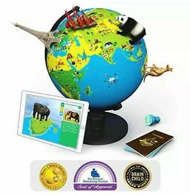 Interactive Globe Toy (Shifu Orboot (App Based): Augmented Reality Interactive Globe for Kids, Stem)