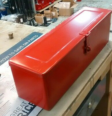 Tbred Universal Tractor Tool Box Red