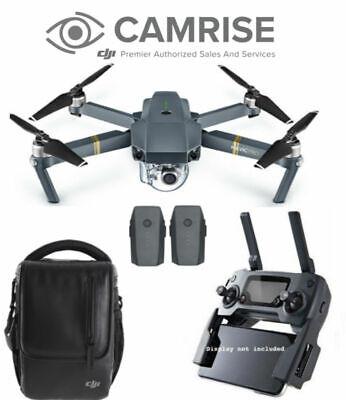 DJI Mavic Pro Drone with 4K HD Camera Extra Battery and Shoulder Bag Combo