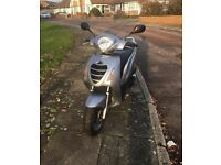 honda ps 125 silver bargain