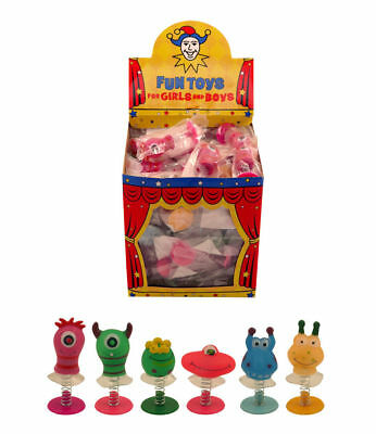 Monster Jump-Ups Party Bag & Stocking Fillers Lucky Dip Prizes (Pack of 6) UK SE - Halloween Party Bag Fillers Uk