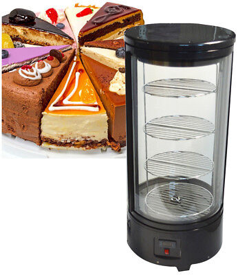 Refrigerated Cake Showcase Commercial Pie Display Case Cabinet 110v