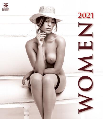 Women Erotic Calendar 2021 Wall Calendar N275 17 11/16x20 1/2in