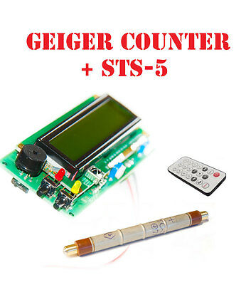 Geiger Dosimeter Counter Kit Assembled W Sts-5 Tube Ir Arduino Ide Compatible