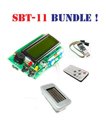 Geiger Counter Dosimeter Kit Assembled W Sbt11 Tube Ir Usb Arduino Compatible