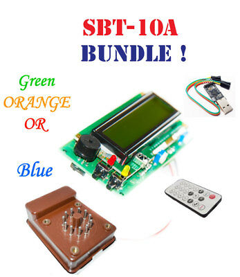 Geiger Counter Dosimeter Kit Assembled W Sbt10a Tube Usb Ir Arduino Ide Compat