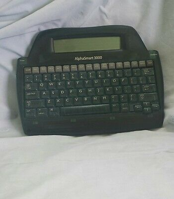 Alphasmart 3000 Portable Laptop Keyboard Word Processor As3000b