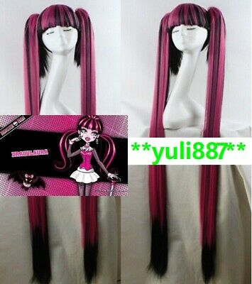 NEW Monster High Draculaura Style Party COS Style Cosplay Wig Halloween](Monster High Draculaura Wig)