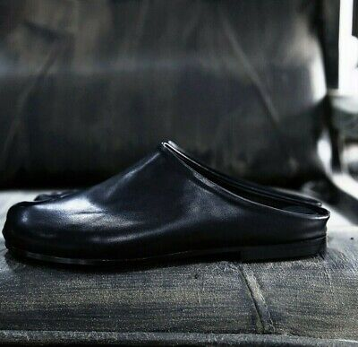 ByTheR Split RARE Simple Leather Tabi Bloafer Shoes Ninjawear Black US Size 10 N