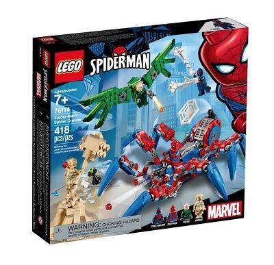 Brand NEW! LEGO 76114 Marvel Super Heroes - Spider-man's Spider Crawler
