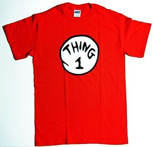 DR-SEUSS-THING-1-2-3-4-5-6-TEE-SHIRT-ADULT-Youth