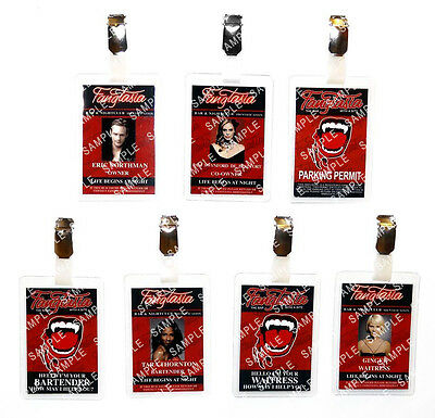 True Blood Fangtasia Vampire Bartender Cosplay Prop Costume Comic Con Halloween