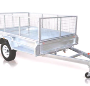 """6x4"""" STANDARD HOT DIPPED GALVANISED BOX TRAILERS"""" Calliope Gladstone Surrounds Preview"""