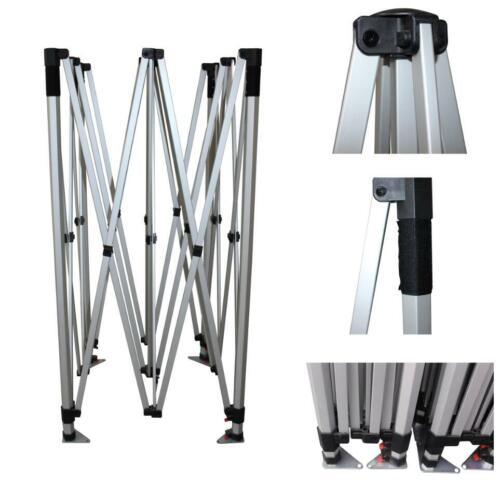 10x10 EZ Pop Up Commercial grade Aluminum hex canopy tent Frames: 10