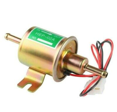 12V Low Pressure Universal Electric Fuel Pump HEP-02A Petrol Gas Diesel car V03