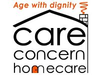 Female homecare workers required in W4, W5 and W13.