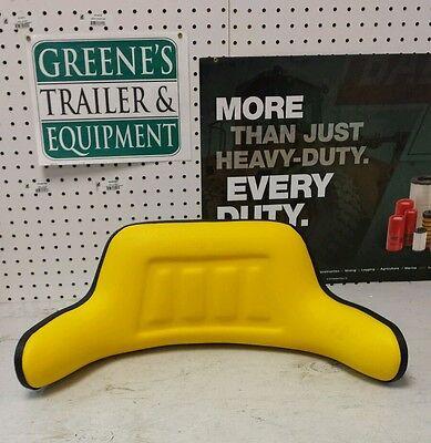 Universal Tractor Seat Back Yellow John Deere