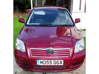 2006 TOYOTA AVENSIS T3 D-4D, 2.0 DIESEL, 1 YR M.O.T! GOOD CONDITION.