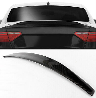 For 08-16 Audi A5 Quattro 2Door Coupe Rear Trunk Spoiler Wing Glossy Black