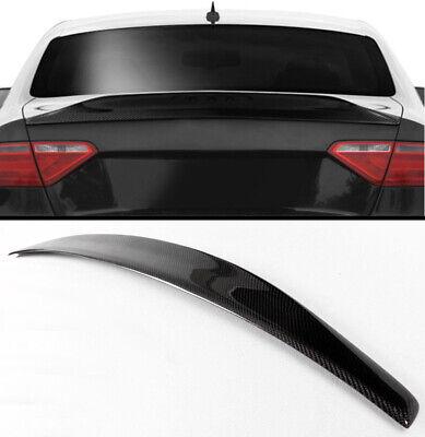 2008-16 Audi A5 B8 B9 Base Coupe 2-Door Carbon Fiber Trunk Boot Lid Spoiler Wing