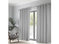 Navaho Eyelet Lined Curtains