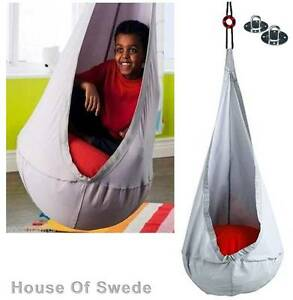 IKEA-Ekorre-Swing-Hanging-Seat-Kids-Swinging-Chair-Hammock-In-Outdoor-Air-Pillow