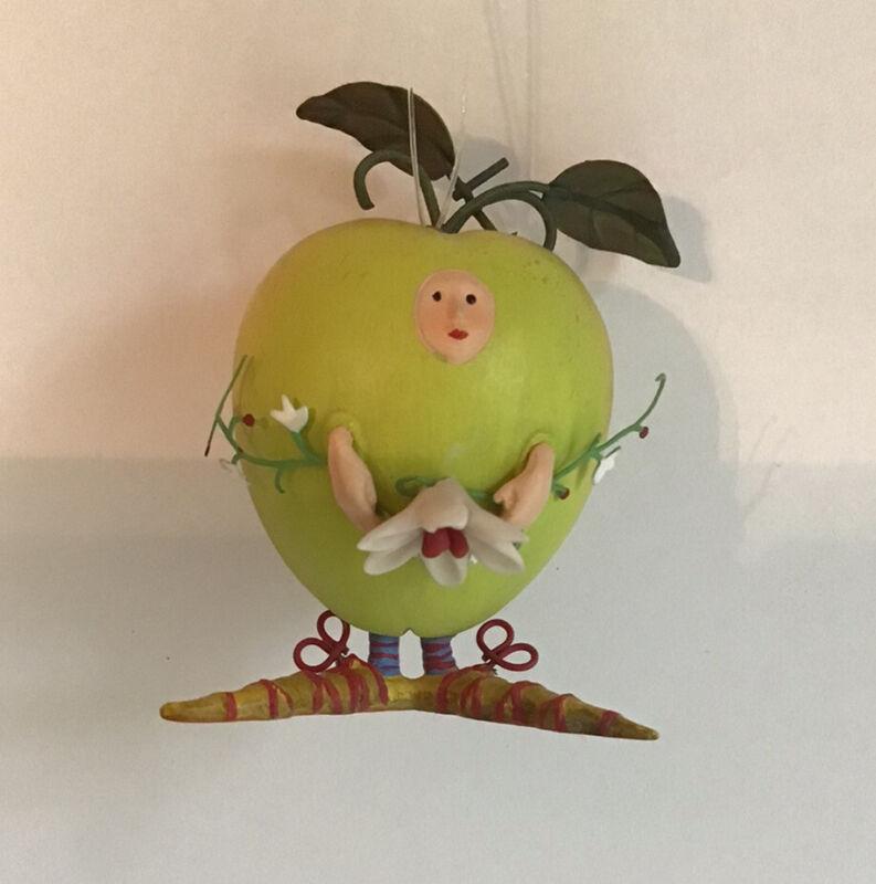 Krinkles Dept 56 Patience Brewster Mini Apple Ornament 2005