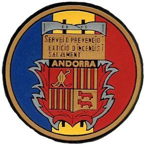 PATCH-FIRE-RESCUE-DEPT-ANDORRA-POMPIERS-BOMBEROS-EB00724