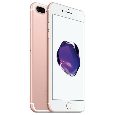 Apple iPhone 7 Plus 32GB Factory Unlocked - Rose Gold Smartphone A1661 Phone LTE](iphone 7 plus gold 32gb)